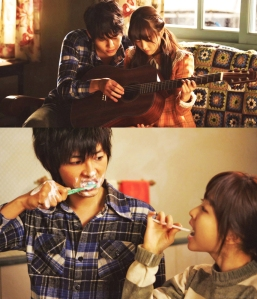 Song Joongki and Park Boyoung